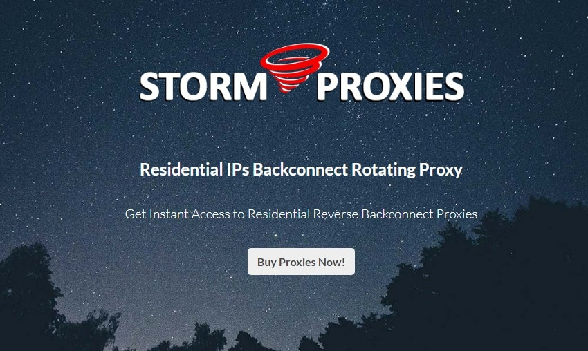 Storm proxies for Residential Proxy
