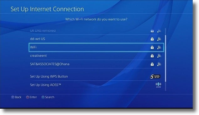 PS4 to detect the proxy
