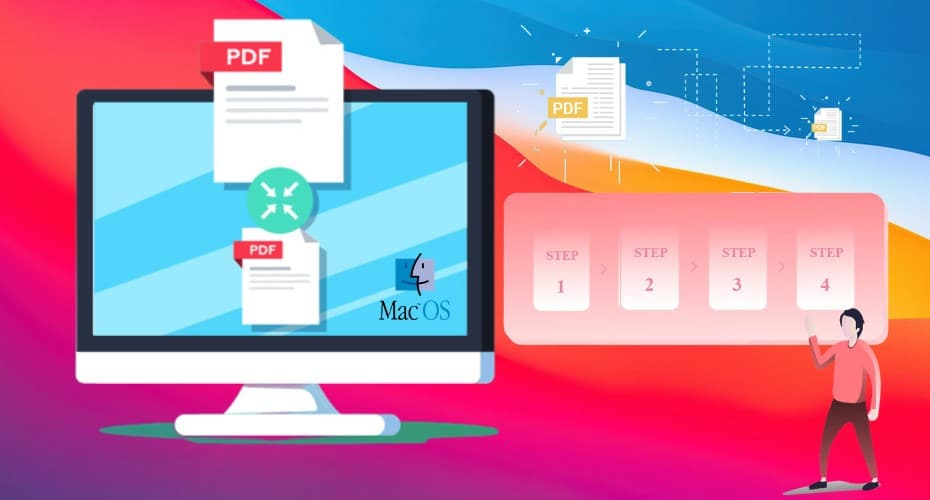 Compress a PDF on Mac