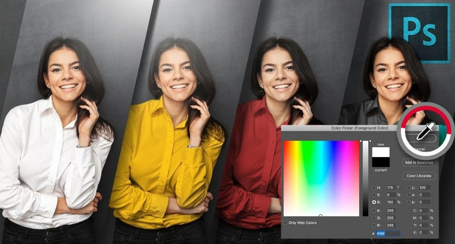 Replace a Color in Photoshop